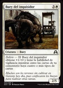 Buey del inquisidor - Inquisitor's Ox